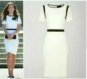Jaeger white shift dress size 16