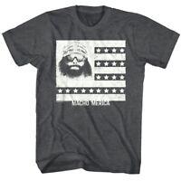 Macho Man Randy Savage America Flag Men's T Shirt Stars & Stripes Wrestling Hero