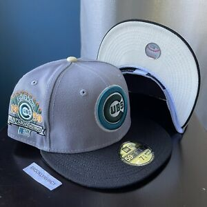 New Era Chicago Cubs 7 1/8 4UCAPS Not Hat Club Myfitteds Yote Interstellar Jelly