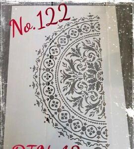 Stencil / Schablone #122 DIN A2 Mandala