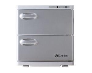 New Earthlite Large Double Door Uv Hot Towel Cabinet With Aluminum Doors