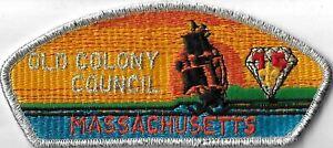 Old Colony Council Massachusetts CSP Diamond Jubilee SMY Bdr. [MX-11219]