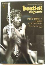 beatleg 4/2006 Japan Music Magazine Bruce Springsteen Black Crowes Bon Jovi