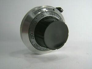 Potentiometer Analogue Dial Mechanism 0-14 in 100ths RBS155 by RS Components