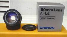 Chinon 1,4/50mm für Pentax-K-Anschluss