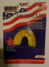 Usa Uliimate Sports & Apparel Ultimate Mouthguard Adult Yellow, Strapless