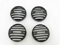 New Brand Royal Enfield Classic Set Of 4 Front Rear Indicator Grill Black