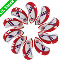 USA FLAG GOLF Iron Head Covers Headcovers Club Protection For Titleist 718AP1 CB