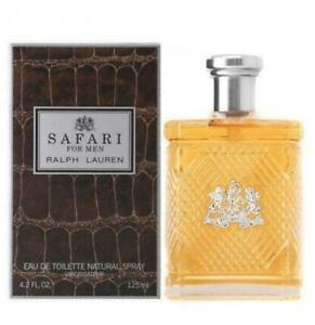 Safari by Ralph Lauren Men 4.2 oz / 125 ml EDT Cologne Spray Free Shipping