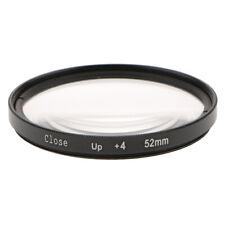 Close Up Filter 52mm + 4 für Nikon 18 55 50mm / 1.4D 35mm / 1.8G Objektiv