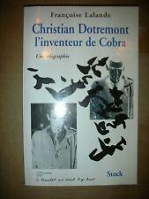 Christian DOTREMONT l'inventeur de COBRA biographie F Lalande  b1