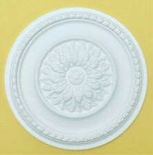 Ceiling Rose Polystyrene Easy Fit  'MEADOWSWEET' 42 CM  Stylish Ceiling Centre.