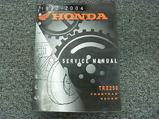 1997 1998 1999 2000 Honda TRX250 Fourtrax Recon ATV Shop Service Repair Manual