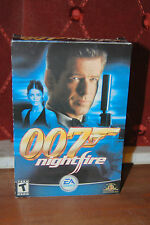 007 Nightfire JAMES BOND Complete PC Game CD EA Games Gearbox MGM