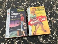 1940s/1950s LOT OF 3 vintage PULP FICTION vintage paperback books