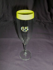 Tupperware collectible 65 anniversary champagne flute acrylic glass wine cup