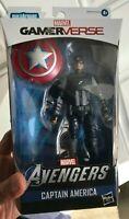 """Marvel Legends 6"""" Gamerverse Captain America Avenger Game Exclusive Steve Rogers"""