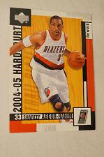 NBA CARD - Upper Deck - Hardcourt - Shareef Abdur-Rahim - Trail Blazers