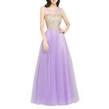 Womens Long Evening Prom Dress Formal Party Ball Gown Bridesmaid Mermaid Beaded