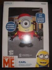 Universal 9-ft x 7.87-ft Lighted Minion Christmas Inflatable Despicable Me  CARL