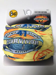 Survivor Buff - Season 41 (CURRENT SEASON) Yase Tribe Yellow NWT (SHIPS FREE!)