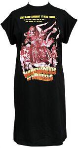 Werewolves on Wheels Womens Horror High Neck T-Shirt Dress Halloween