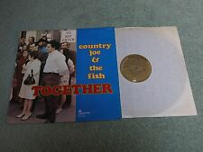 COUNTRY JOE & THE FISH together VANGUARD LP Reissue Gold labels VSD 79277!