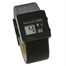R-0812120 New Nooka Zoo Classic Night Watch Black