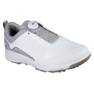 Skechers Go Golf Torque Twist Golf Shoes -  White/Grey