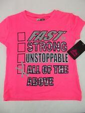 Rbx Preformance Athletic Workout Top Glitter Sparkle Girls Sz. 5/6 Medium Nwt