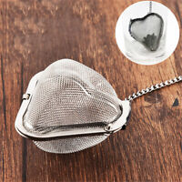 Stainless Steel Heart-shaped Tea Infuser Loose Leaf Strainer Filter Herbal Spice