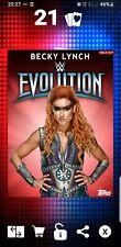 Topps WWE Slam Digital Card 100cc Becky Lynch Women's Evolution 2018