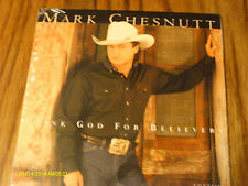 Mark Chesnutt Thank God for Believers Sealed CD Single With Snippits