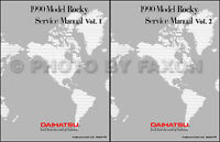 Best Shop Manual for 1990 Daihatsu Rocky 90 Repair Service