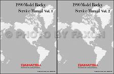 Best Shop Manual for 1990 Daihatsu Rocky 90 Repair Service