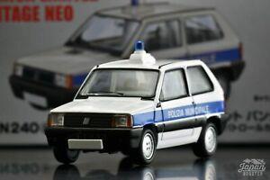 [TOMICA LIMITED VINTAGE NEO LV-N240a 1/64] FIAT PANDA POLICE CAR