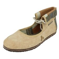Ladies Merrell Casual Flat Lace Up Shoes Samphire
