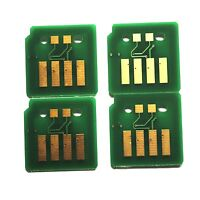 4 X Toner Chip for Xerox Workcentre 7120, 7125, 7220, 7225 (006R01457/58/59/60)