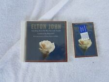 CD+CASSETTE COMBO~ ELTON JOHN SOMETHING ABOUT THE WAY YOU LOOK TONIGHT~NEW! 1997