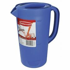 Rubbermaid Fg3062Prperi Beverage Pitcher, 2-1/4 qt. Polyethylene Periwinkle