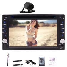 "Gps Navigation 6.2"" Touchscreen Usb Dvd Car Bluetooth Stereo Free Rear Camera"