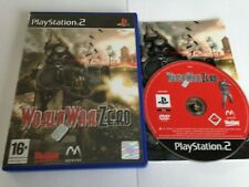 World War Zero Iron Storm Game For Sony Playstation 2 PS2 World Post! 2004
