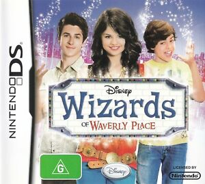 WIZARDS OF WAVERLY PLACE NINTENDO DS COMPLETE