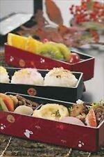 HAKOYA Cherry Blossom Bento lunch Box case Sakura 06423 RED F/S from japan