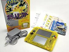 Nintendo 2DS Pokemon Pikachu Limited Edition Pack From Japan Excellent Rare