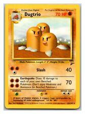 Dugtrio 23/130 Base Set 2 Pokemon Card LP Cond #
