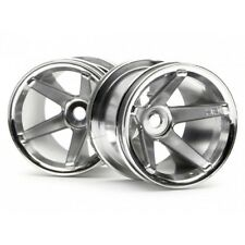 HPI 2160 Super Star MT 2.2 Wheels (chrome/Deep Offset) (2)