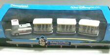 New Disney Parks Parking 4 Lot Tram Toy Set Collectible Die Cast