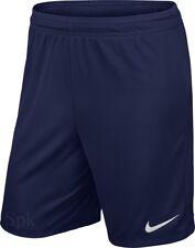 Nike Park II Knit Pantalón corto pantalones de Fútbol para hombre entrenamiento L Navy
