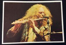 1975 Figurine Panini Pop Stars #66 Ian Anderson Of Jethro Tull ~ German Card